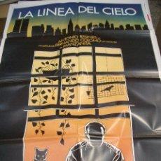 Cinema - Póster original de 70x100cm LA LÍNEA DEL CIELO - 66934598