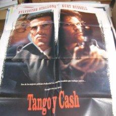 Cine: PÓSTER DE CINE ORIGINAL TANGO Y CASH. Lote 66961514
