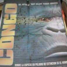 Cine: PÓSTER ORIGINAL DE CINE 70X100CM CONGO. Lote 66997890