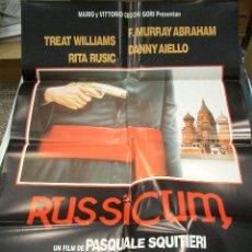 Cine: PÓSTER ORIGINAL DE 70X100CM RUSSICUM. Lote 67055726
