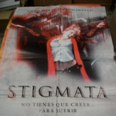 Cine: PÓSTER ORIGINAL DE 70X100CM STIGMATA. Lote 67072266