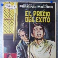 Cine: EL PRECIO DEL EXITO - ANTHONY PERKINS, KARL MALDEN - AÑO 1964. Lote 67105153
