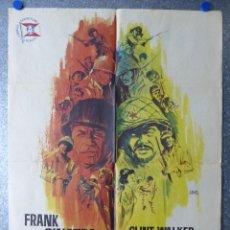 Cine: TODOS ERAN VALIENTES - FRANK SINATRA, CLINT WALKER - AÑO 1965. Lote 67105929