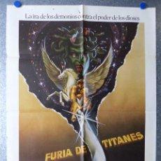 Cine: FURIA DE TITANES - HARRY HAMLIN, JUDI BOWKER, URSULA ANDRESS - AÑO 1981. Lote 67241985