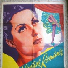Cine: CARTEL CINE , FUEGO SAGRADO , 1947 , CALOS VEGA , ORIGINAL. Lote 67305109