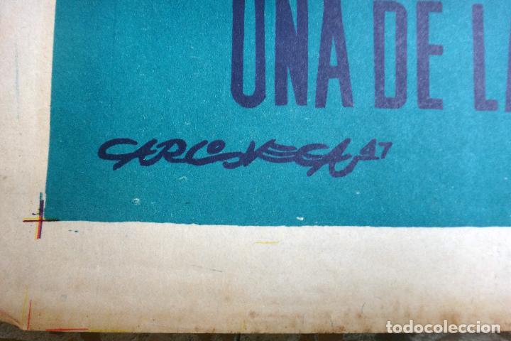 Cine: CARTEL CINE , FUEGO SAGRADO , 1947 , CALOS VEGA , ORIGINAL - Foto 3 - 67305109