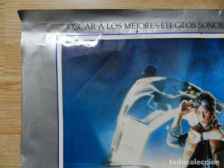 Cine: Cartel Regreso al futuro Back to the Future poster original estreno VHS Videoclub 62x97cm muy RARO - Foto 2 - 67376389