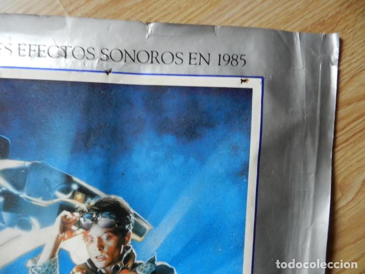 Cine: Cartel Regreso al futuro Back to the Future poster original estreno VHS Videoclub 62x97cm muy RARO - Foto 4 - 67376389