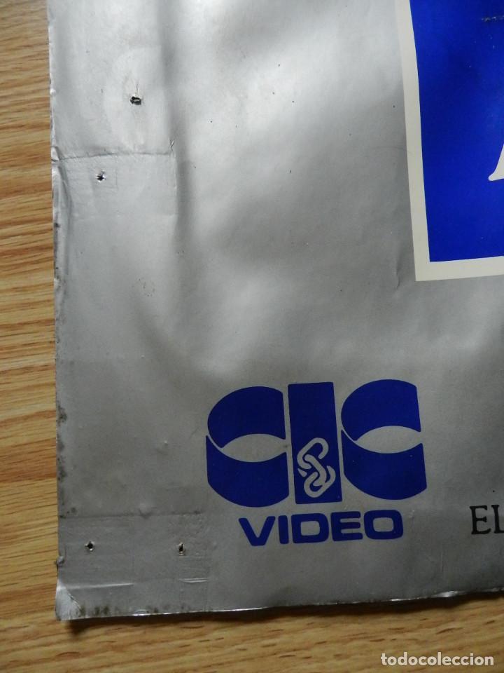 Cine: Cartel Regreso al futuro Back to the Future poster original estreno VHS Videoclub 62x97cm muy RARO - Foto 7 - 67376389