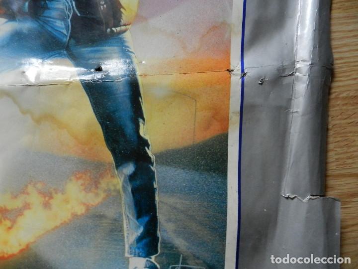 Cine: Cartel Regreso al futuro Back to the Future poster original estreno VHS Videoclub 62x97cm muy RARO - Foto 8 - 67376389
