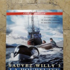 Cine: CARTEL LIBERAR A WILLY 3-DE UN CINE FRANCES. Lote 67418831