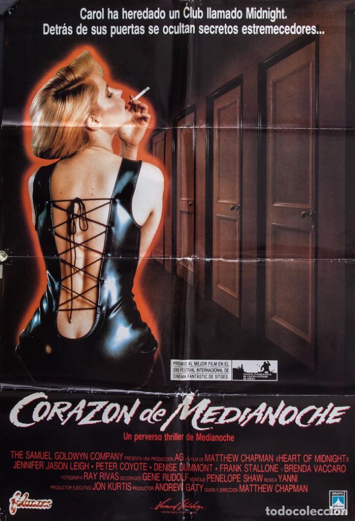 CARTEL DE CINE CORAZÓN DE MEDIANOCHE 1989 70*100CM (Cine - Posters y Carteles - Suspense)