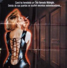 Cine: CARTEL DE CINE CORAZÓN DE MEDIANOCHE 1989 70*100CM. Lote 67588109