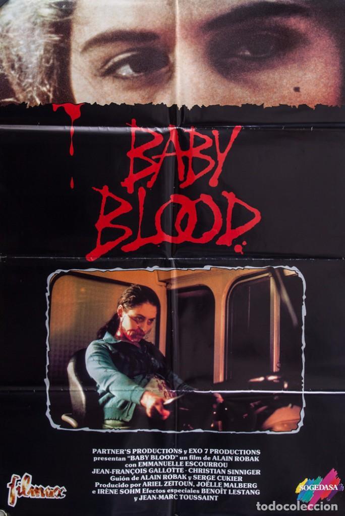 CARTEL DE CINE BABY BLOOD 1990 70*100CM (Cine - Posters y Carteles - Terror)