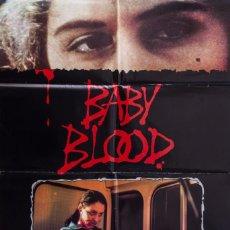 Cine: CARTEL DE CINE BABY BLOOD 1990 70*100CM. Lote 67588385