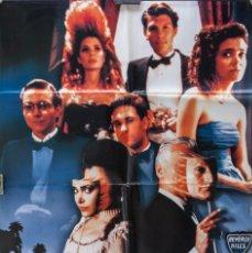 Cine: CARTEL DE CINE SOCIETY 1989 70*100CM. Lote 67588669