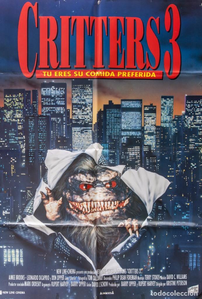 CARTEL DE CINE CRITTERS 3 1991 70*100CM (Cine - Posters y Carteles - Terror)