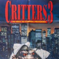 Cine: CARTEL DE CINE CRITTERS 3 1991 70*100CM. Lote 67588729