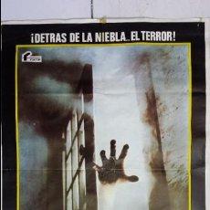Cine: ANTIGUO Y ORIGINAL CARTEL DE CINE 70 X 100 CM. LA NIEBLA - 1980. Lote 67621241