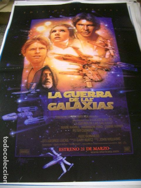 póster original de 70x100cm la guerra de las ga - Comprar Carteles y ...