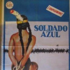 Cine: CARTEL ORIGINAL 70X100 SOLDADO AZUL 122. Lote 67644613