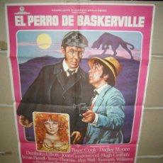 Cine: EL PERRO DE BASKERVILLE DUDLEY MOORE POSTER ORIGINAL 70X100 YY (1442). Lote 67895773