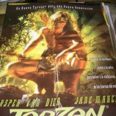 Cine: PÓSTER DE CINE ORIGINAL 70X100CM TARZÁN. Lote 68129277