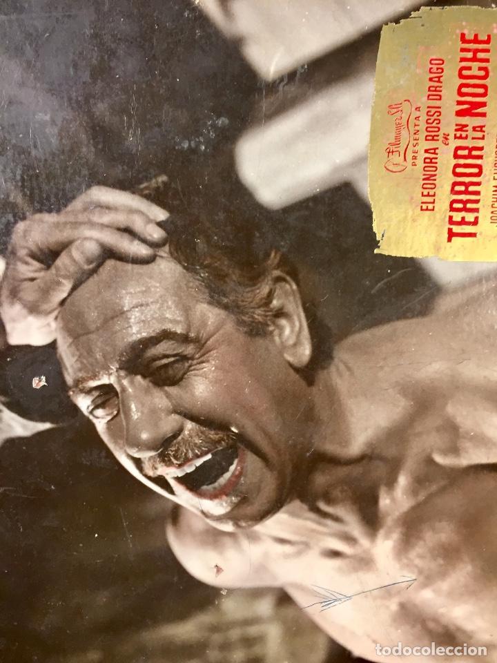 Cine: cartelera cine lobby card terror en la noche eleonora rossi drago dor reinl 29x39cms - Foto 3 - 68170517