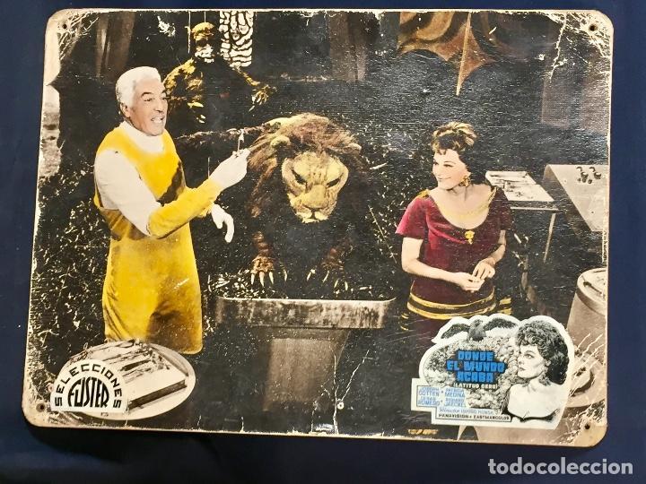 Cine: cartelera cine lobby card donde el mundo acaba latitud cero cotten medina romero 29x39cms - Foto 5 - 68171037