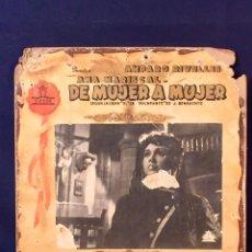 Cine: CARTELERA CINE LOBBY CARD DE MUJER A MUJER RIVELLES MARISCAL FAJARDO LUCIA 31X37CMS. Lote 68172461