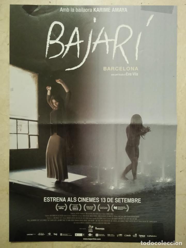 CARTEL ORIGINAL -A3- BAJARI - ARCHIVO - EVA VILA - DOCUMENTAL FLAMENCO - CINE ESPAÑOL (Cine - Posters y Carteles - Documentales)