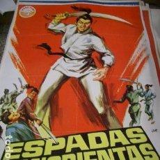 Cine: PÓSTER ORIGINAL DE 70X100CM ESPADAS SANGRIENTAS. Lote 68189873