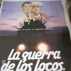 Cine: PÓSTER DE CINE ORIGINAL 70X100CM LA GUERRA DE LOS LOCOS. Lote 68263261