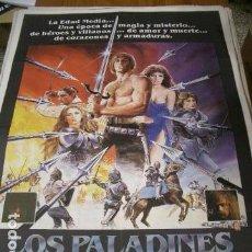 Cinéma: PÓSTER DE CINE ORIGINAL 70X100CM LOS PALADINES. Lote 68314841