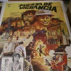 Cine: PÓSTER DE CINE ORIGINAL 70X100CM FUERZA DE VIGILANCIA. Lote 68314909