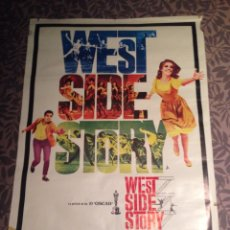 "Cine: CARTEL/POSTER DE CINE "" WEST SIDE STORY "" 1971. Lote 130165456"