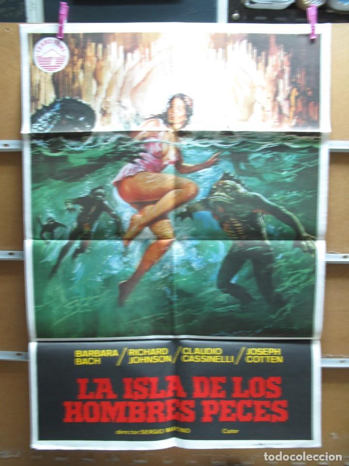 AL1718 LA ISLA DE LOS HOMBRES PECES (Cine - Posters y Carteles - Terror)