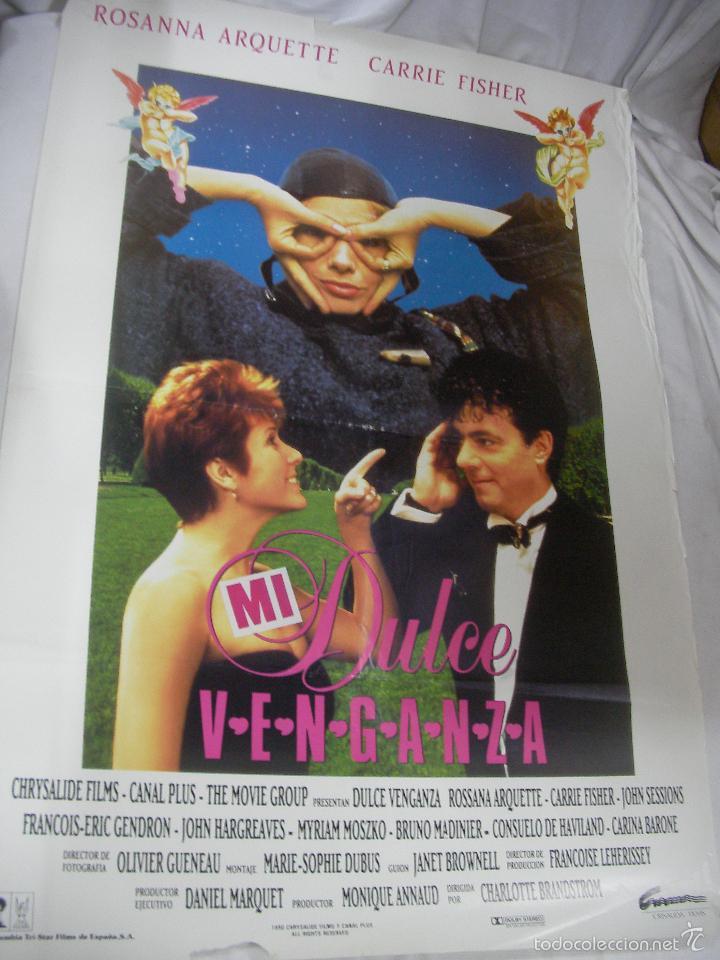 ANTIGUO POSTER CARTEL DE CINE ORIGINAL - MI DULCE VENGANZA (Cine - Posters y Carteles - Aventura)