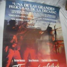 Cine: ANTIGUO POSTER CARTEL DE CINE ORIGINAL - TIEMPOS DE GLORIA. Lote 68423997