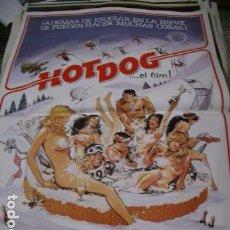 Cine: PÓSTER DE CINE ORIGINAL HOT DOG. Lote 243996095