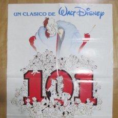 Cine: CARTEL CINE, 101 DALMATAS, WALT DISNEY, 1960, C901. Lote 68511225