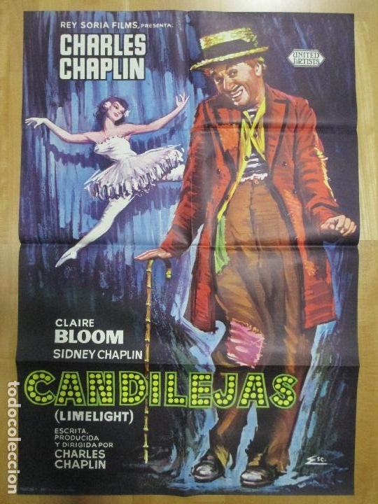 CARTEL CINE, CANDILEJAS, CHARLES CHAPLIN, CLAIRE BLOOM, C902 (Cine- Posters y Carteles - Drama)