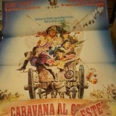Cine: PÓSTER DE CINE ORIGINAL CARAVANA AL OESTE. Lote 221601958