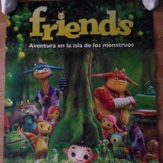 Cine: FRIENDS - APROX 70X100 CARTEL ORIGINAL CINE (L35). Lote 68781193