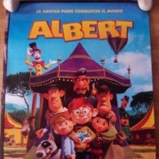 Cine: ALBERT - APROX 70X100 CARTEL ORIGINAL CINE (L35). Lote 68783917