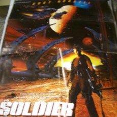 Cine: PÓSTER DE CINE ORIGINAL 70X100CM SOLDIER. Lote 68884097