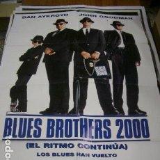 Cine: PÓSTER DE CINE ORIGINAL 70X100CM BLUES BROTHERS 2000. Lote 68884381