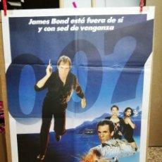 Cine: POSTER 007 LICENCIA PARA MATAR JAMES BOND TIMOTHY DALTON, CAREY LOWELL, TALISA SOTO, ROBERT DAVI.. Lote 68922833