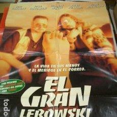 Cinema: PÓSTER DE CINE ORIGINAL 70X100CM EL GRAN LEBOWSKI. Lote 136094341
