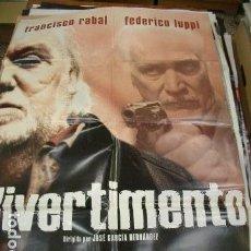 Cine: PÓSTER DE CINE ORIGINAL 70X100CM DIVERTIMENTO. Lote 68997601